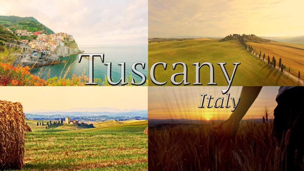 Tuscany Italy 8K and 4K (ULTRA HD)