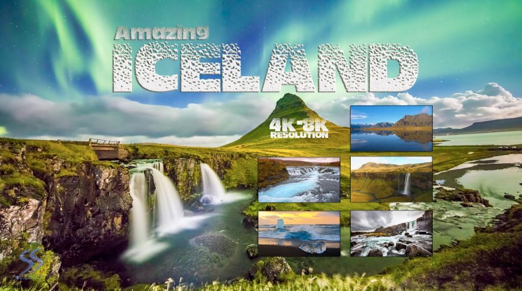 Amazing ICELAND 4K and 8K (Ultra HD)